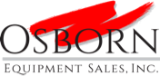 Osborn Equipment Sales, Inc. Sticky Logo